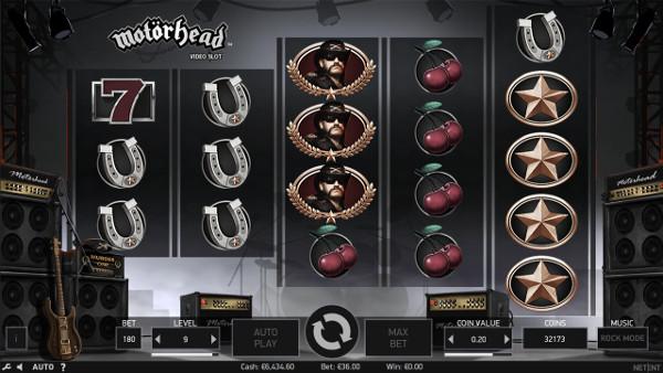 Игровой автомат Motorhead - играйте в аппараты 777 онлайн