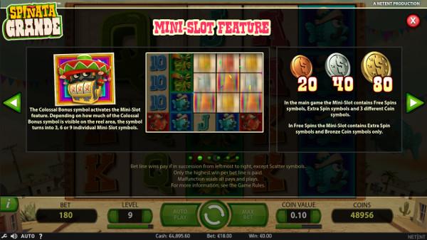 Игровой автомат Spinata Grande - в казино Адмирал Х сорви куш