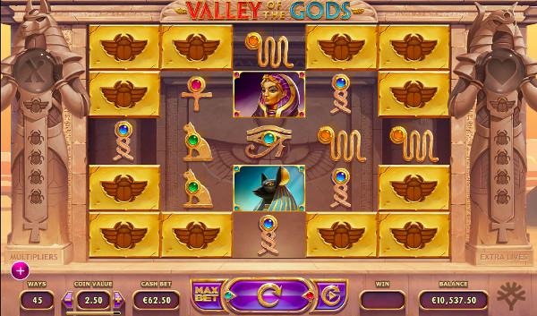 Игровой автомат Valley of The Gods - играть на сайте Граф казино онлайн